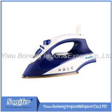 Travelling Steam Iron Ei-8817 Electric Iron with Ceramic Soleplate (Blue)
