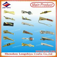 Machen Sie Ihre eigenen Krawattenklammer Großhandel Krawattennadel Pin in China