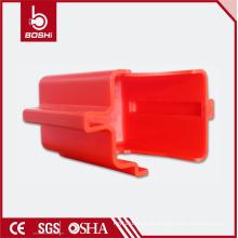 Válvula de esfera com flange ajustável Bloqueio da tampa (BD-F08), cadeado de segurança fechado bloqueio diâmetro máximo: 9mm
