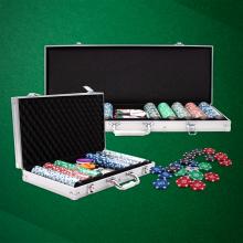 casino chip poker set 300pcs blank gambling game