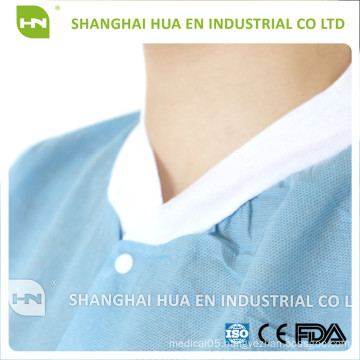 Non woven disposable medical lab coat
