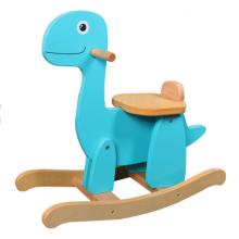 Balancim do cavalo-dinossauro da fonte da f