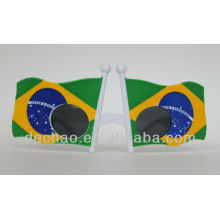 2014 Brazil world cup football match fashion sunglasses from china