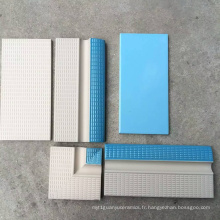 Bordure de mosaïque de céramique