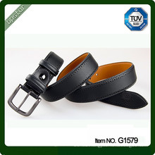 Customized genuine leather belt strap wide leather straps for man