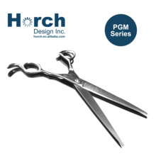 Pet Ergonomic Hair Cutting Scissors with Sharp Razor Blade