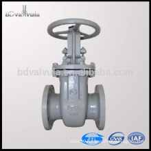 GOST DN40-600 carbon steel WCB stem gate valve PN16