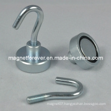 Strong Neodymium Magnetic Wall Hook for Industrial