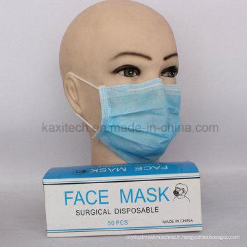 Masque facial non tissé jetable jetable