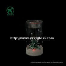 Стеклянная чашка свечки для домашнего украшения