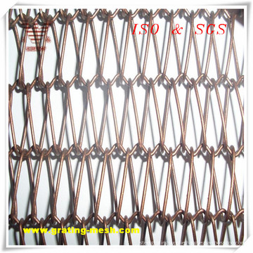 High Quality Chain Link Type Mesh Curtain for Building Decorative