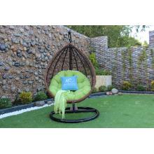 Egg Shape Outdoor Wicker Furniture Swing Chair Rattan Hammock