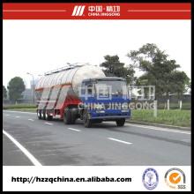 Réservoir GPL remorque acier, camion citerne pour le transport des liquides chimiques
