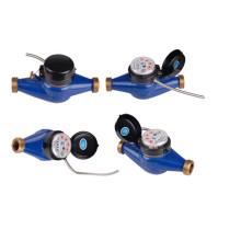 Multi Jet Dry Dail Medidor de agua digital con salida de pulso