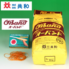 """Rubber band O-Band made from high quality raw rubber. Manufactured by Kyowa Limited. Made in Japan (1"""" wide rubber band)"""