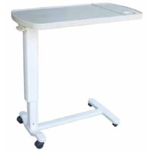 High Quality Coated Steel Overbed Table