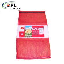 50kg PE Raschel Leno Potato Onion Mesh Net Bag