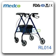 Rollo de peso leve dobrável com assento de repouso RL014
