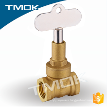 High Quality Lockable Brass Gate Valve Valvula Made in China yuhuan