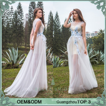 Casual frock designs long evening gown two pieces party gowns evening wear net frock design for ladies