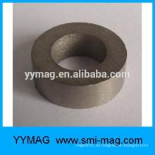 China fabricante imán de tierras raras / anillo imán smco para motor / generador