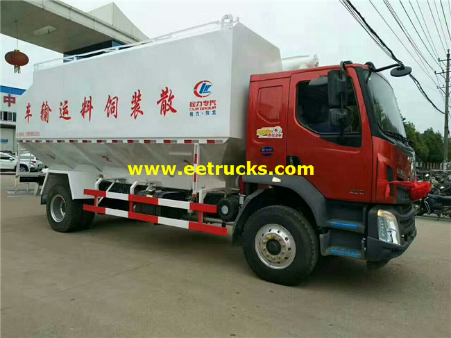 4x2 Bulk Powder Tanker Trucks