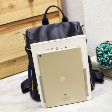 Disesuaikan Membuat pola kisi Lady double shouder Bag