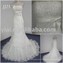 JJ2373 Real Sample Beaded Lace Mermaid Wedding Anniversary Dresses