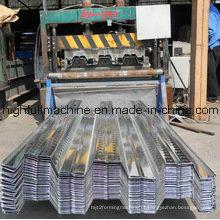Folha de piso de metal galvanizado