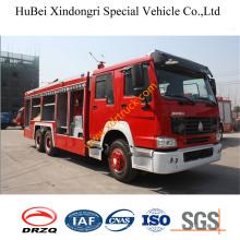 11ton HOWO Dry Powder Fire Truck Euro3
