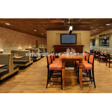 Modern restaurant chair and table set XY0800