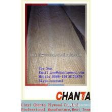 Folheado de madeira / engenharia e folheado natural