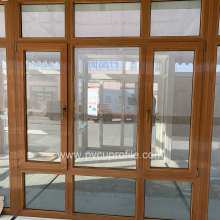 Vidros duplos UPVC Front Doors PVC Window