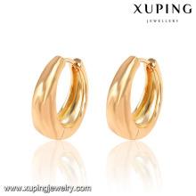 Pendiente de aro plateado oro de la manera 18K de la joyería 26933-Xuping con precio de la promoción