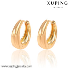 26933-Xuping Jewelry Fashion 18K Gold Plated Hoop Earring With Promotion Price