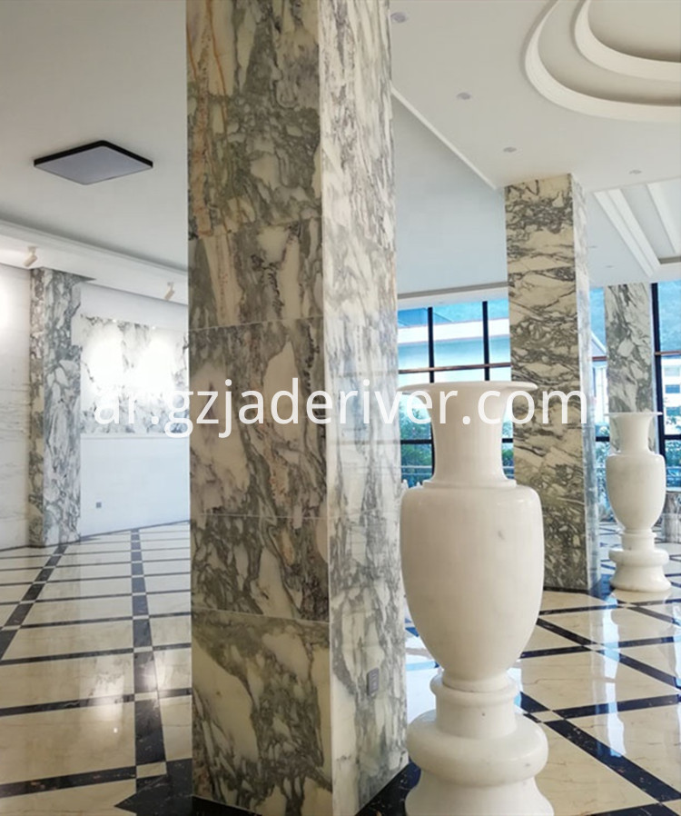 White Floor Marble Tile