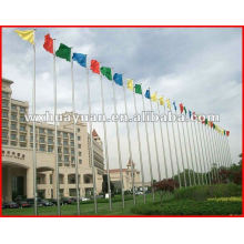 Hot dip galvanizing flagpole