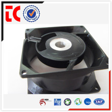 Profesional de aluminio de alta calidad de fundición de ventilador caso personalizado para accesorios mecánicos