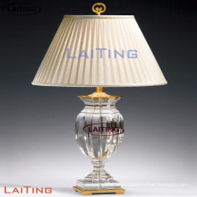 Glass table lamp base table lamp design