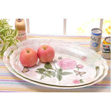 (BC-TM1024) Fashionable Design Hot-Sell High Quality Reusable Melamine Serving Tray