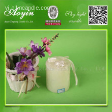 7.5 * 15 White Paraffin Wax Pillar Candle cho Châu Phi