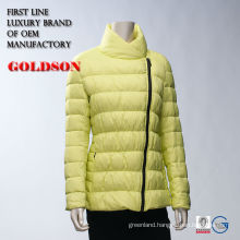 Ultra light down jacket for ladies sexy down jacket