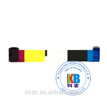 compatible thermal printing cleaning  kit cp40 cp60  cd800 id card printer color 535000-003 datacard color ribbon