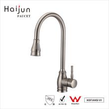 Haijun 2017 duraderos comerciales de una sola mano cubierta montada en la cocina grifo