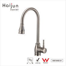 Haijun 2017 Durable Commercial Single Handle Deck Mounted Kitchen Faucet