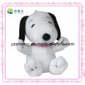 Cuddly pequeno tamanho branco cão barato pelúcia promoção brinquedo