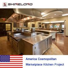 USA. Cosmopolitan Marketplace Kitchen Project from Shinelong