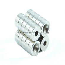 Sintered NdFeB Magnet Cylinder with Countersunk