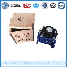 Medidor de agua de brida tipo Woltman con pulso para la opción