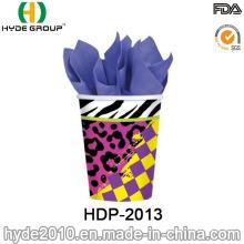 Parede simples barato isolados de copo de papel descartável copo (12 onças)